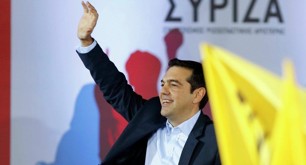 Alexis Tsipras, primer ministro de Grecia y líder del partido Syriza