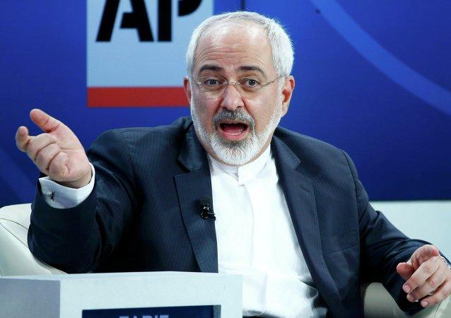 Mohammad Yavad Zarif, ministro de Asuntos Extranjeros de Irán (archivo)