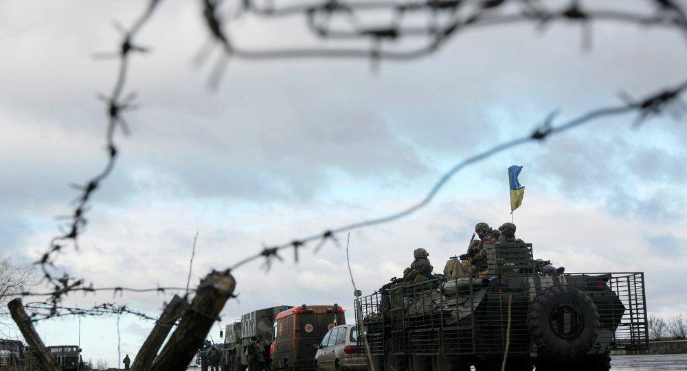 Continúa el bloqueo transportista de Donbás, según un organismo de las milicias