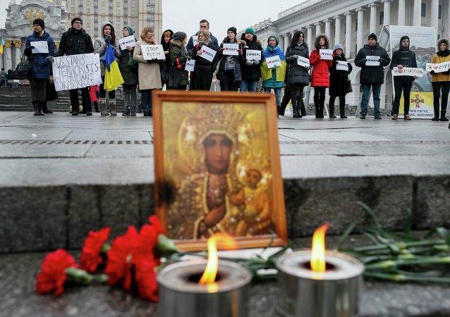 Mariúpol decreta dos días más de luto oficial por las víctimas del bombardeo