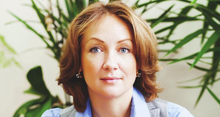 Margarita Rusétskaya, directora del Instituto Estatal Alexander Pushkin