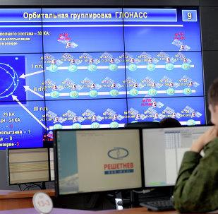 En el puesto de mando de GLONASS