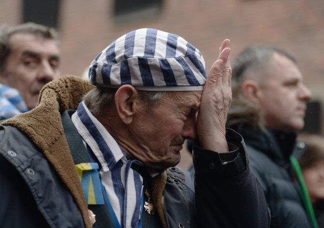 Exprisionero de un campo de exterminio a 70 aniversario de la liberación de Auschwitz