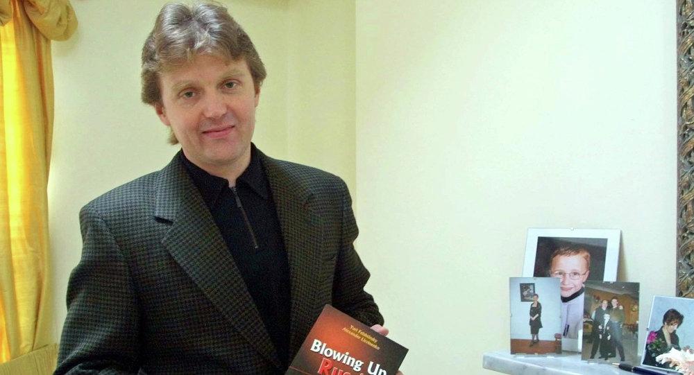 Alexander Litvinenko, exagente de seguridad ruso