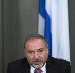 Avigdor Liberman, ministro de Exteriores israelí