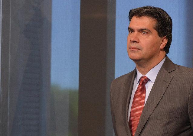 Jorge Capitanich, jefe del Gobierno de Argentina