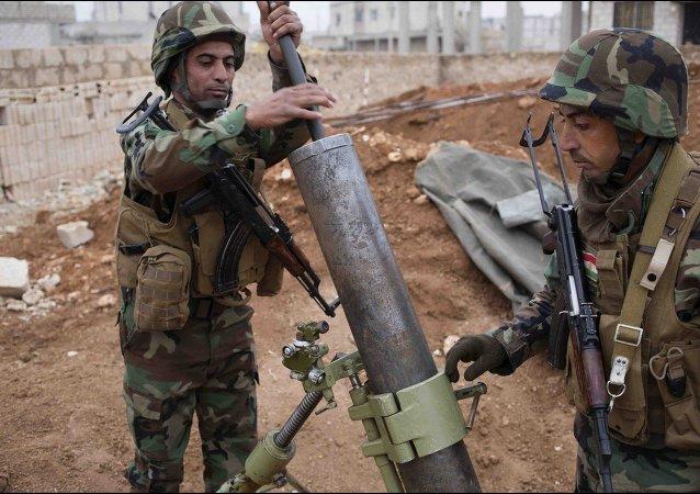 Kurdos en Kobani (archivo)