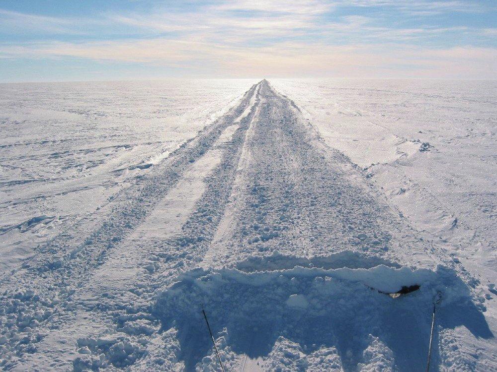 Los misterios de Antártida