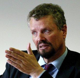 Gernot Erler, coordinador del Gobierno de Alemania para la cooperación alemana-rusa