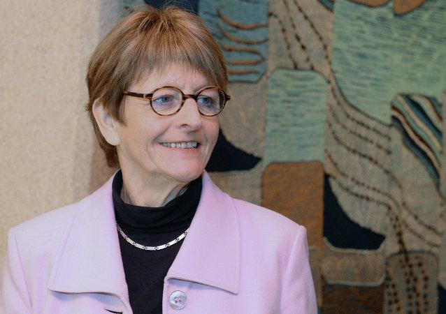 Anne Brasseur, presidente de la PACE