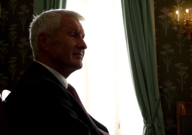 Thorbjorn Jagland, secretario general del Consejo de Europa