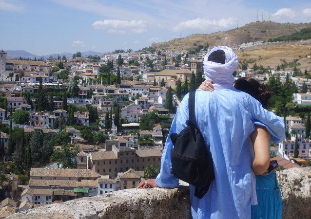 Musulmanes en Granada