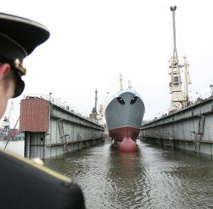 El Almirante Gorshkov, primera fragata del proyecto 22350