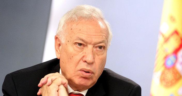 José Manuel García-Margallo, ministro de Asuntos Exteriores de España