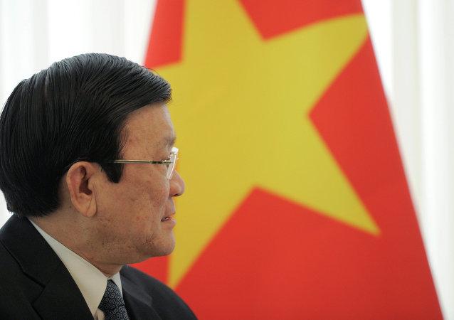 Truong Tan Sang, presidente de Vietnam