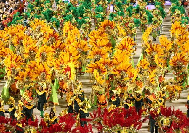 Carnaval de Río de Janeiro (archivo)
