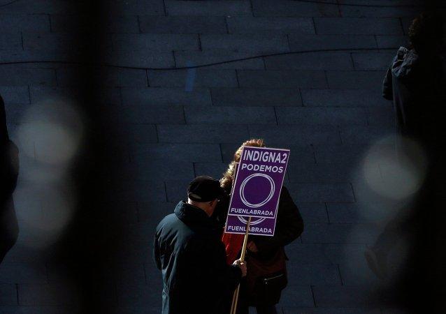 Arranca en Madrid la Marcha del Cambio de Podemos