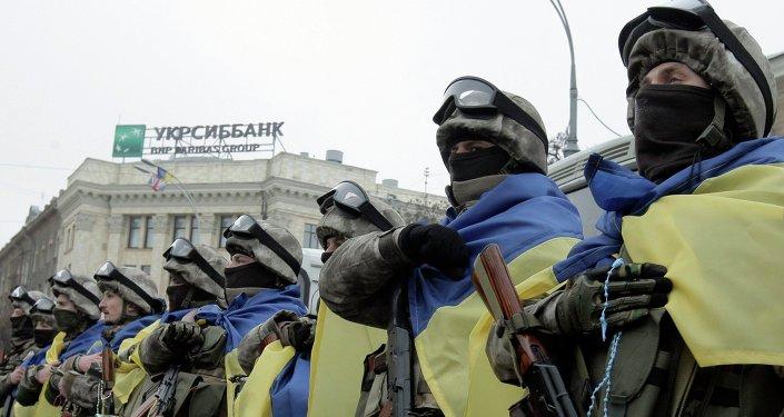 Efectivos de las FFAA de Ucrania (archivo)
