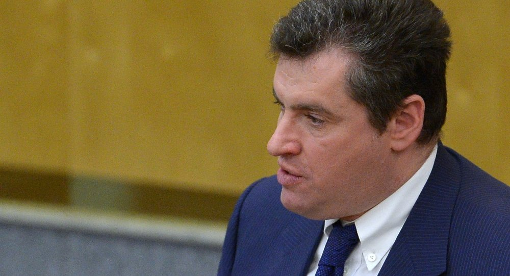 Leonid Slutski, jefe adjunto de la delegación rusa en la PACE