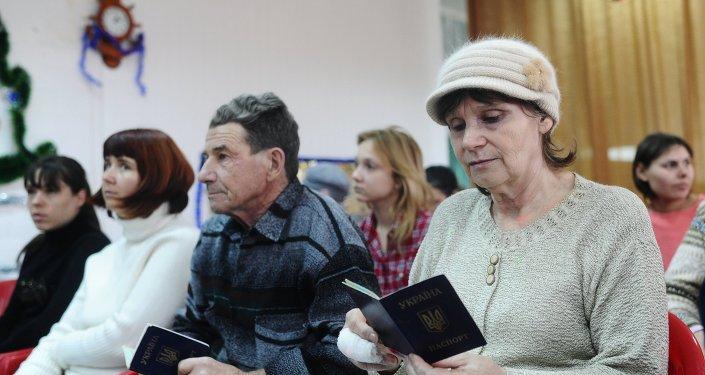 Rusia acoge a refugiados ucranianos