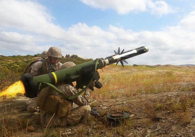 Los misiles antitanque FGM-148 Javelin
