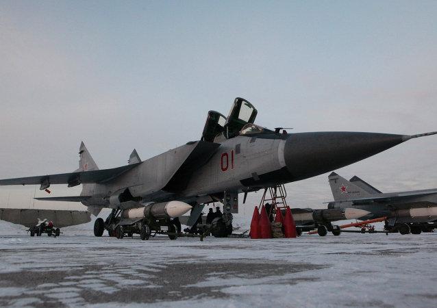 Cazas MiG-31