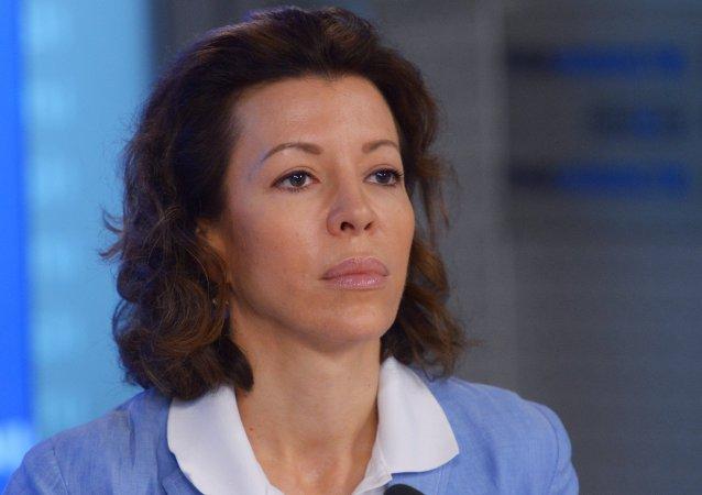 Veronika Krashenínnikova, importante funcionaria de Rossiya Segodnya