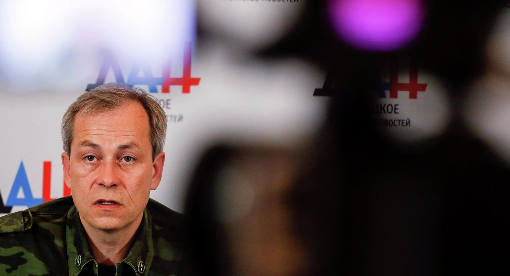 Eduard Basurin, jefe adjunto de las milicias de la autoproclamada República Popular de Donetsk