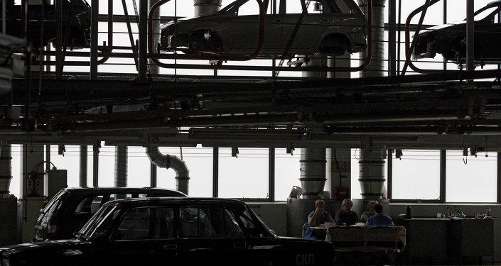 Fabricación de automóviles en Rusia