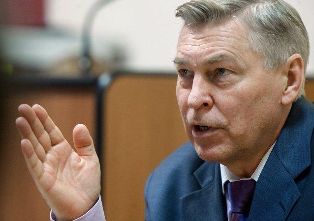 Vladímir Filíppov, rector de la Universidad de la Amistad de los Pueblos