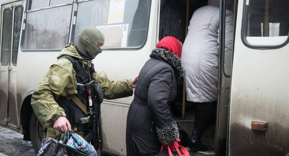 Donetsk y Kiev acuerdan un alto el fuego para evacuar civiles de Debáltsevo