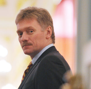 Dmitri Peskov, portavoz del Kremlin