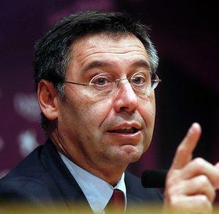 Josep Maria Bartomeu, presidente del Fútbol Club Barcelona