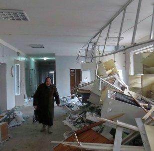 Bombardeo alcanzó el hospital en Donetsk