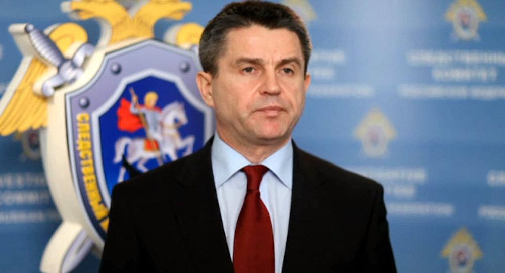 Vladímir Markin, portavoz del Comité de Investigación de Rusia