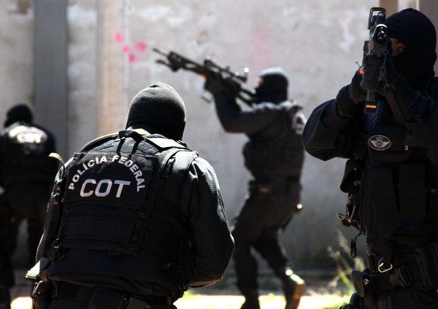 Policía Federal de Brasil. Comando de Operaciones Tácticas (COT)