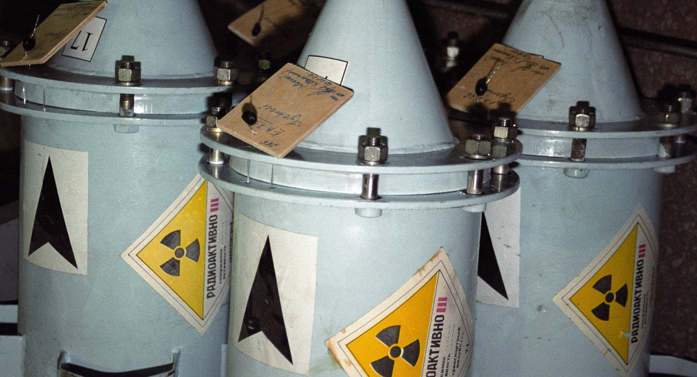 Сontenedores con combustible nuclear (archivo)