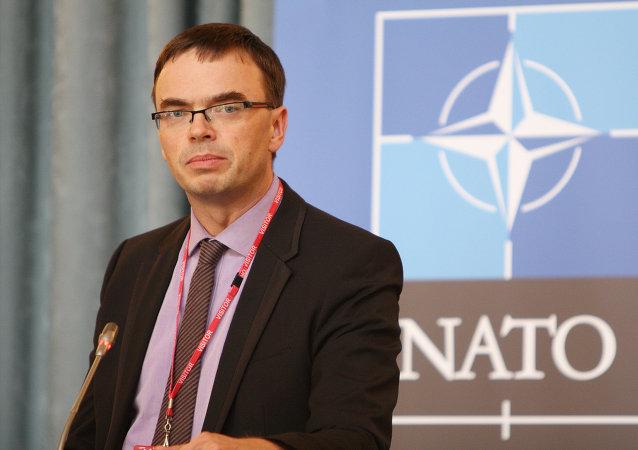 Sven Mikser, ministro de Defensa de Estonia