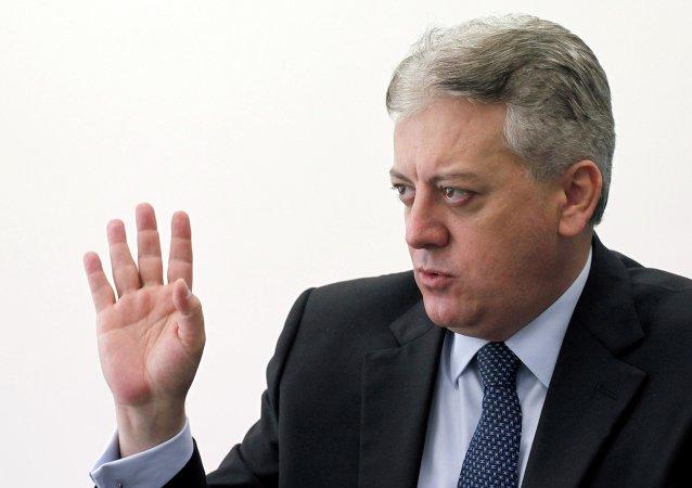 Aldemir Bendine, ex presidente de la petrolera Petrobras