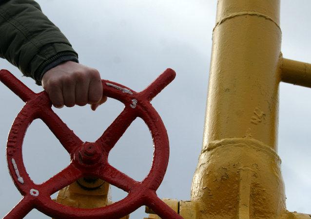 Gasoducto en Ucrania