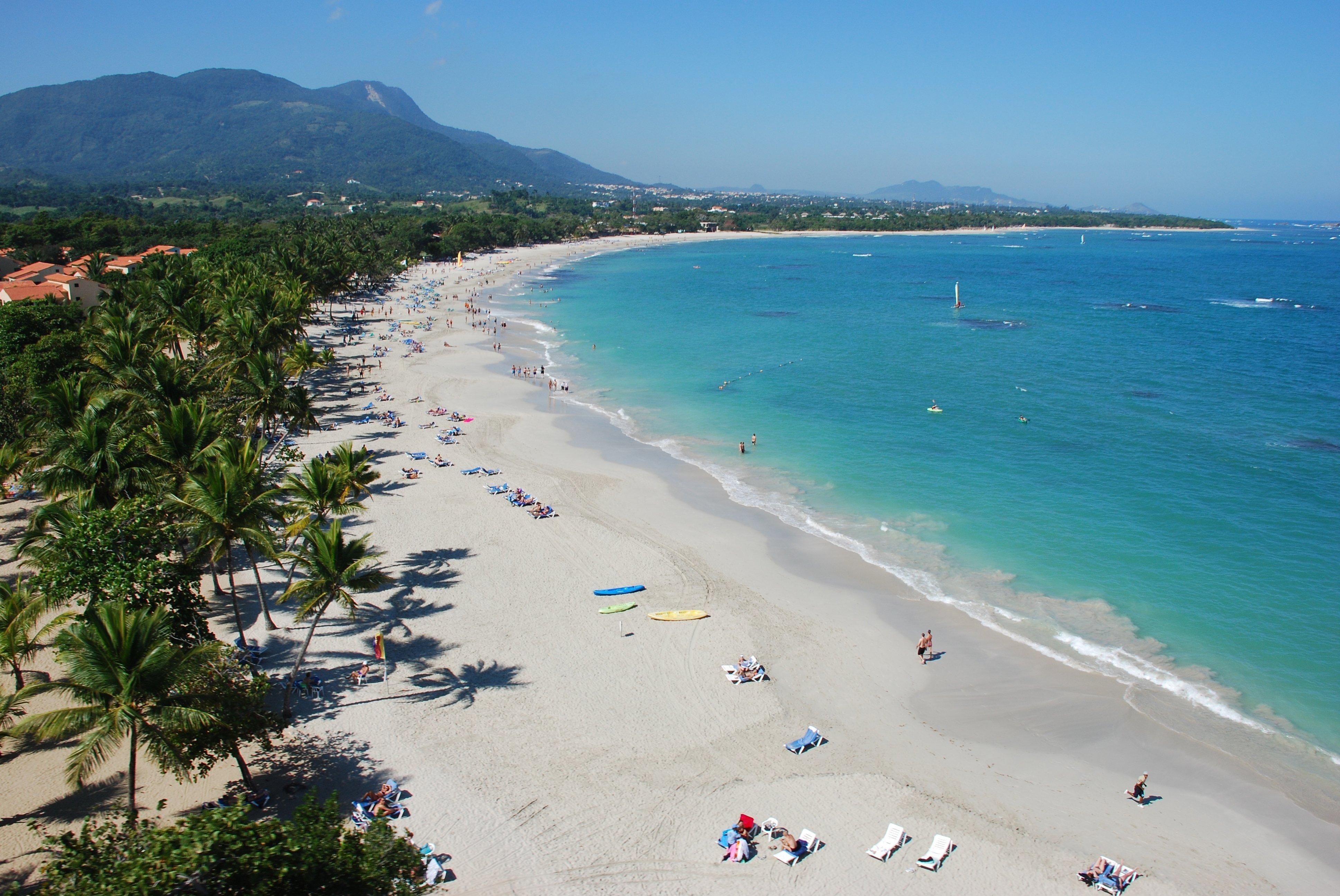 Playa en Puerto Plata, República Dominicana