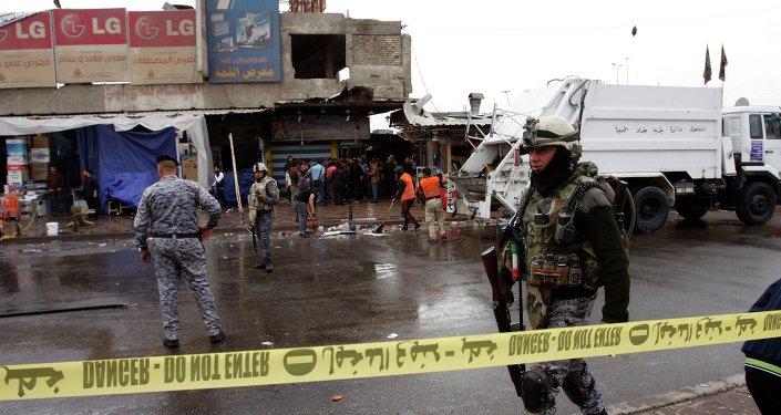 Situación en Bagdad