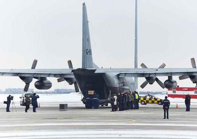 Ucrania envía a Holanda restos de las víctimas del vuelo MH17