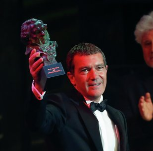 Antonio Banderas recibe El Goya de Honor