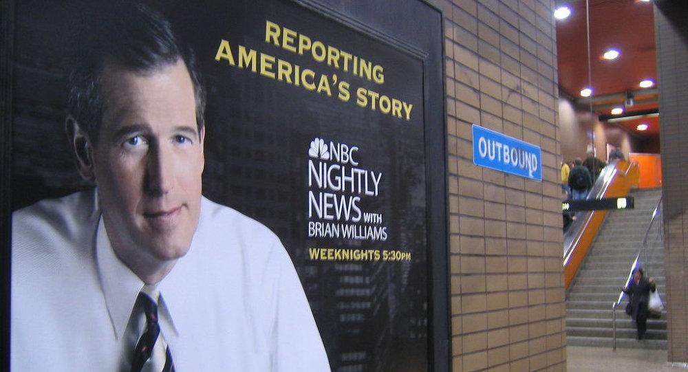 Cartel para Nightly News con Brian Williams