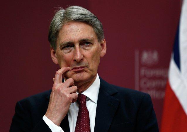 Philip Hammond, ministro de Exteriores británico