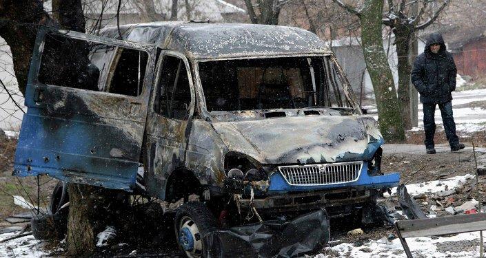Hostilidades en Donetsk