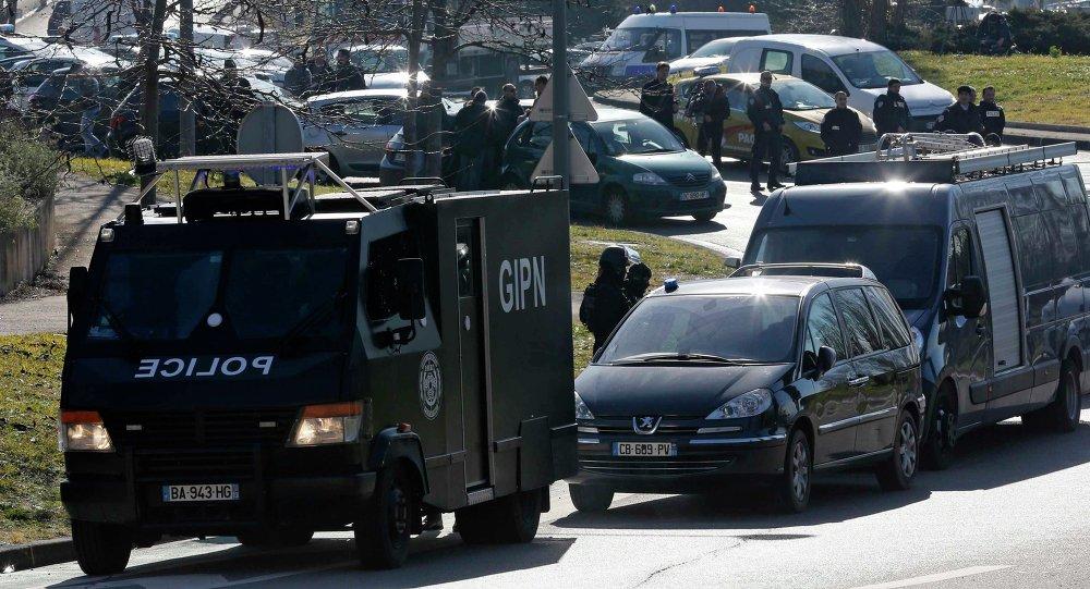 Policía en Marsella