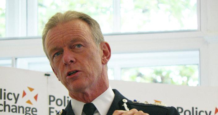 Bernard Hogan-Howe, jefe de la Policía Metropolitana de Londres (MET)