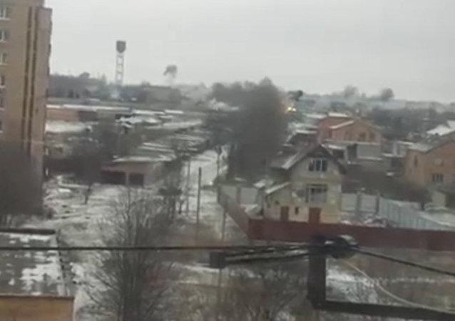 El bombardeo de Kramatorsk y sus consecuencias. Grabado por testigos